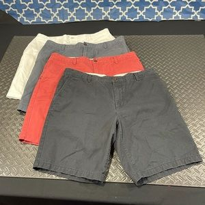 Set of (4) Dockers Cotton Golf Shorts
